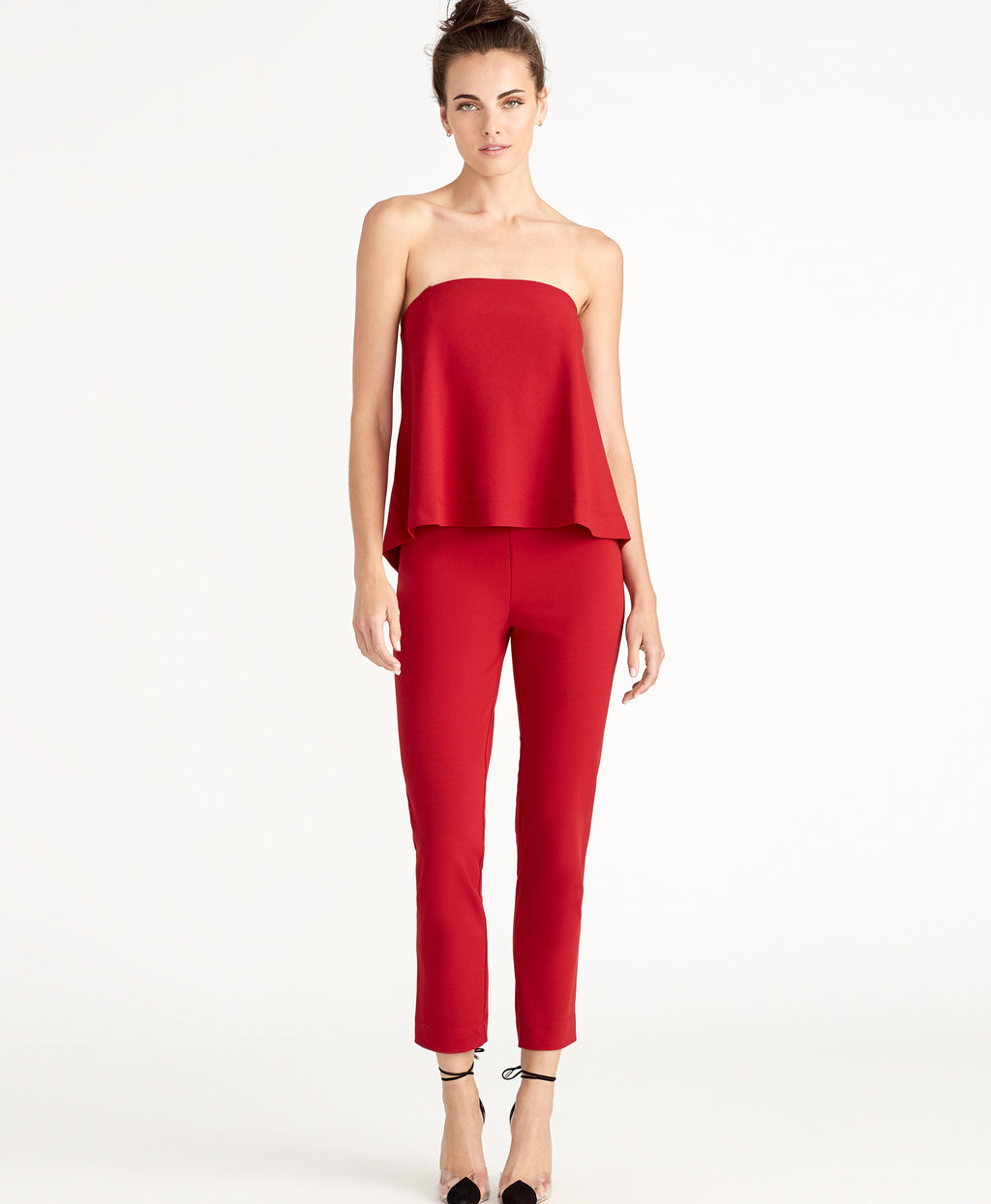 ADELINE JUMPSUIT | RUBY RED