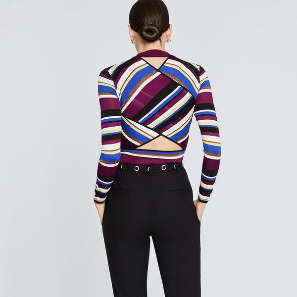 Royal Stripe Sweater