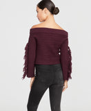 Ryanne Sweater | ROYAL ORCHID