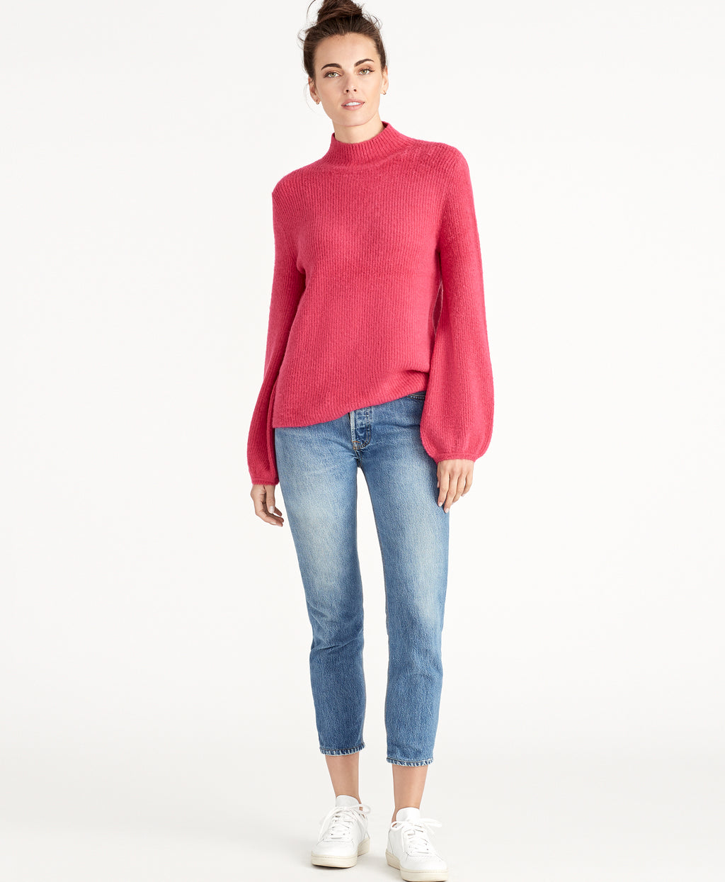SHAYLA SWEATER | PINK LOTUS