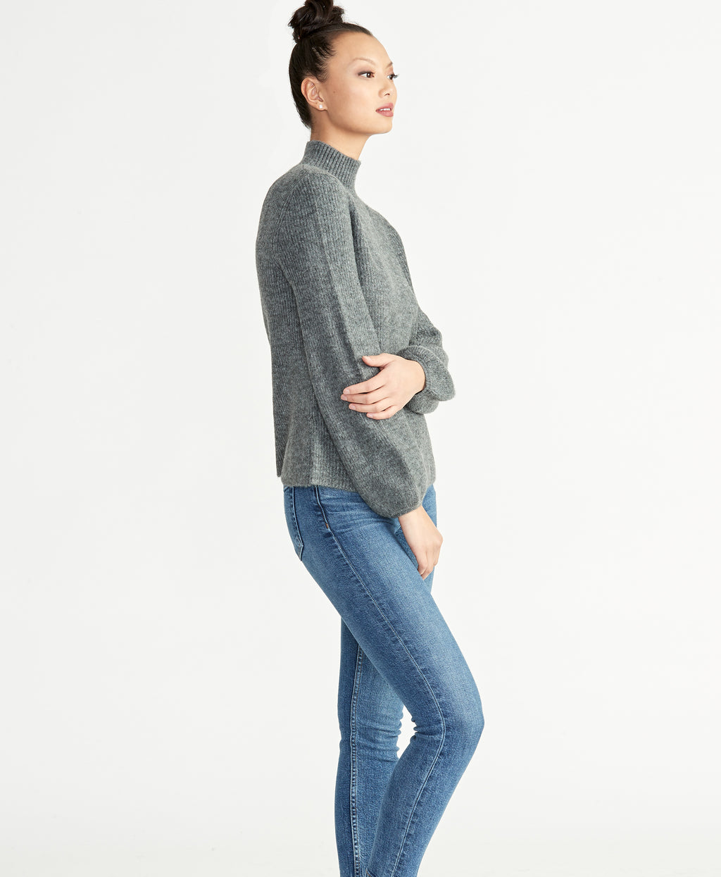 SHAYLA SWEATER | HEATHER GREY