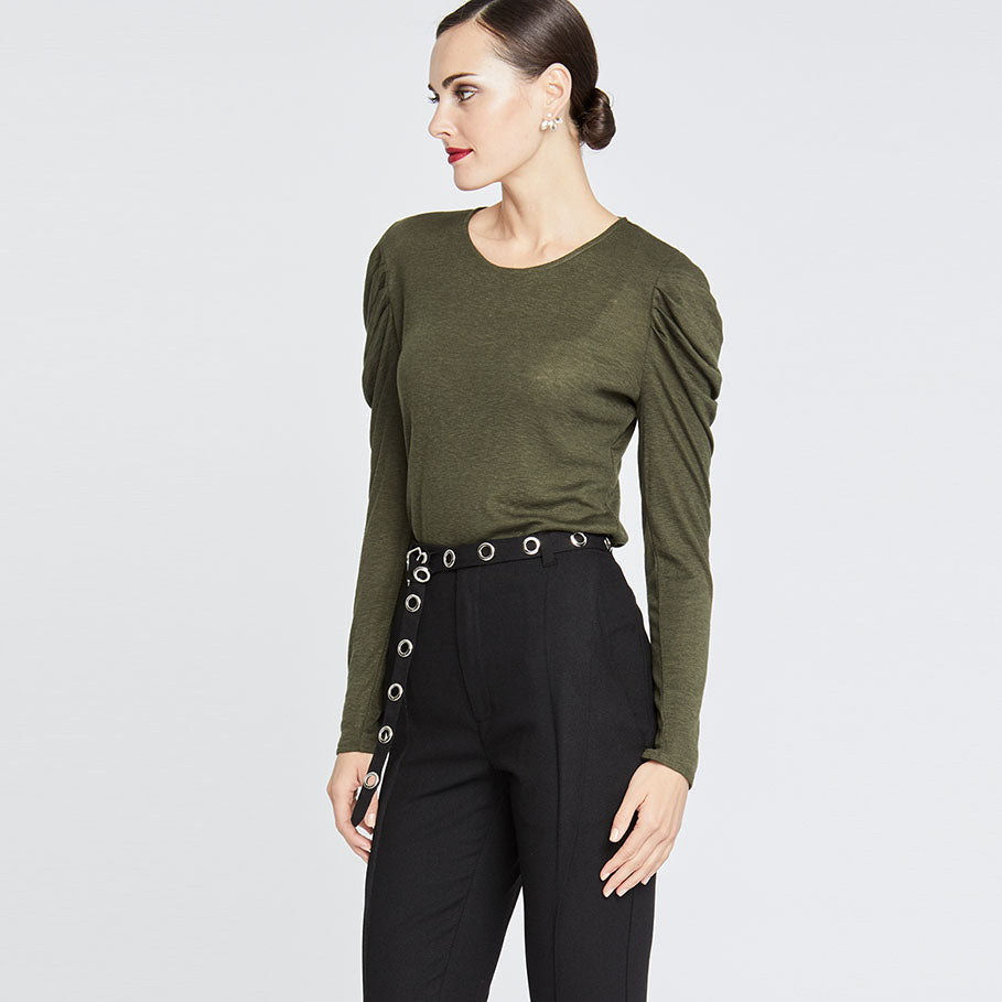 Gemma Top | ARMY GREEN