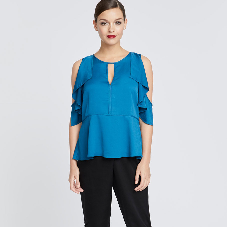 Taylor Top | TEAL BLUE