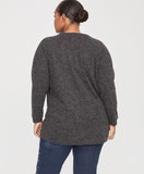 ROWAN PULLOVER | CHARCOAL HEATHER GREY