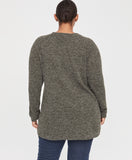 ROWAN PULLOVER | HEATHER ARMY