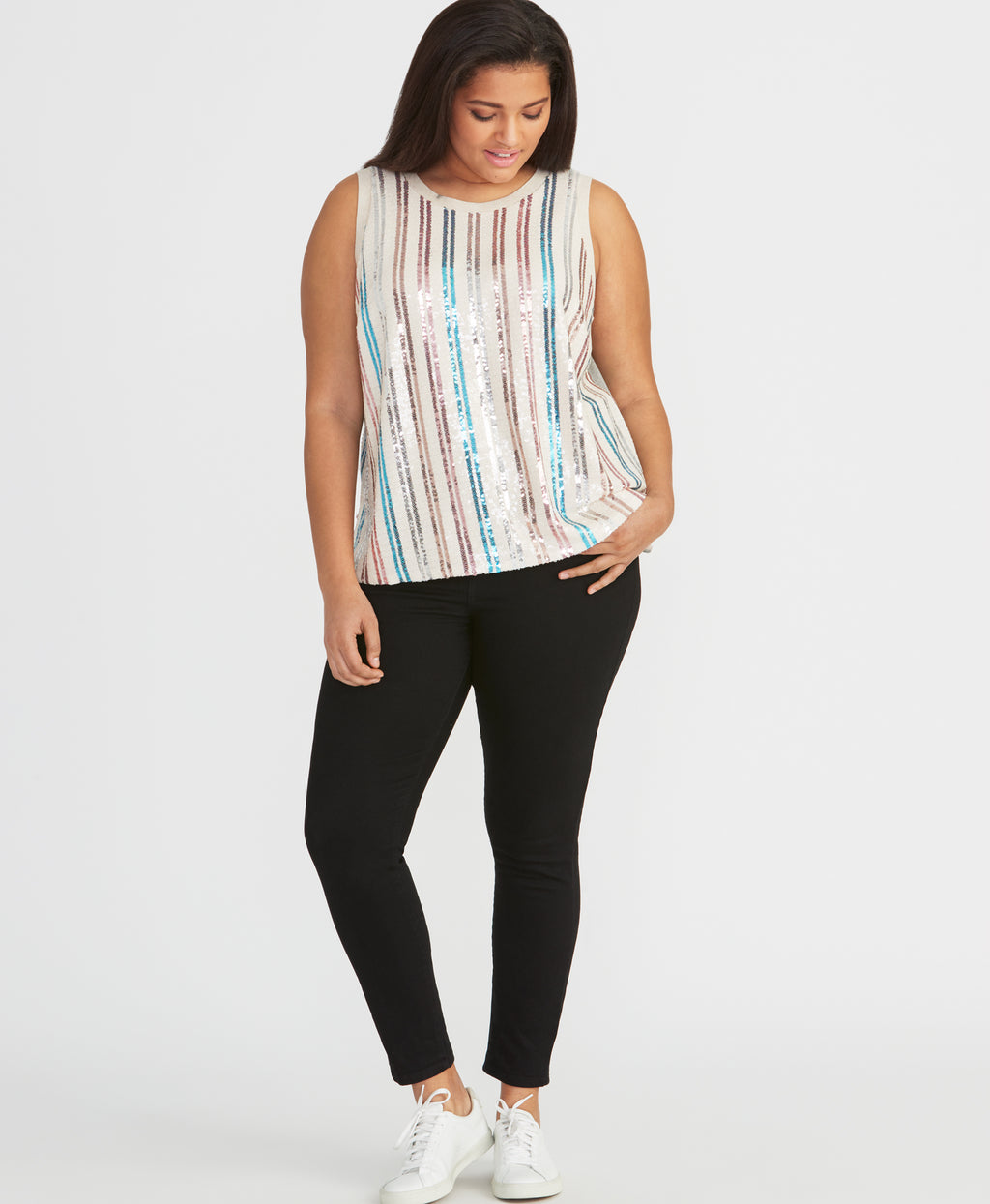 ADDIE SEQUIN TOP | ADDIE SEQUIN TOP