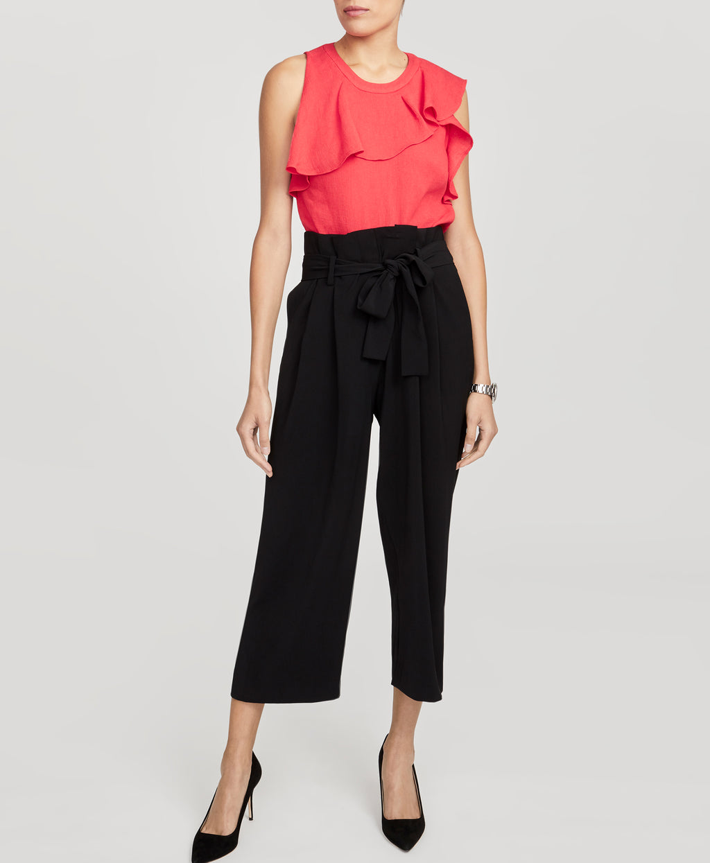 Ruffled Shell Top | Ruffled Shell Top