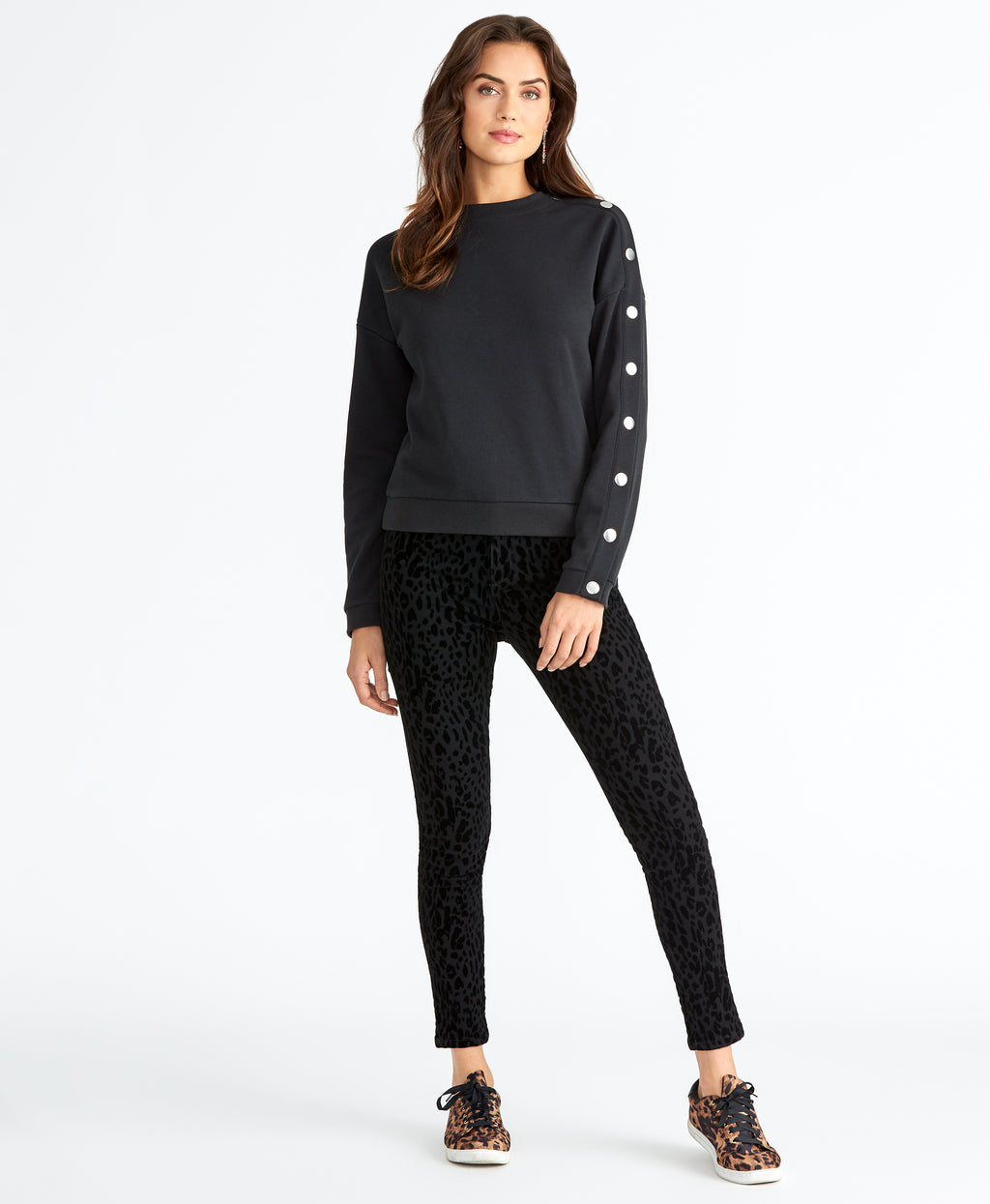Marina Sweatshirt | BLACK