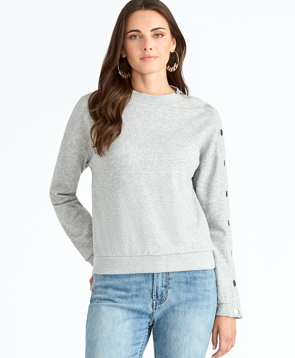 Marina Sweatshirt | HEATHER GREY