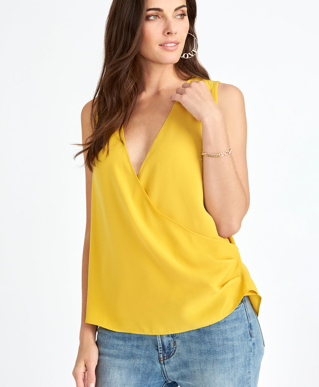 Claire Top | VIBRANT CANARY