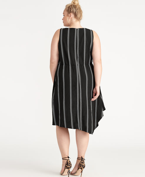 RINA STRIPE DRESS
