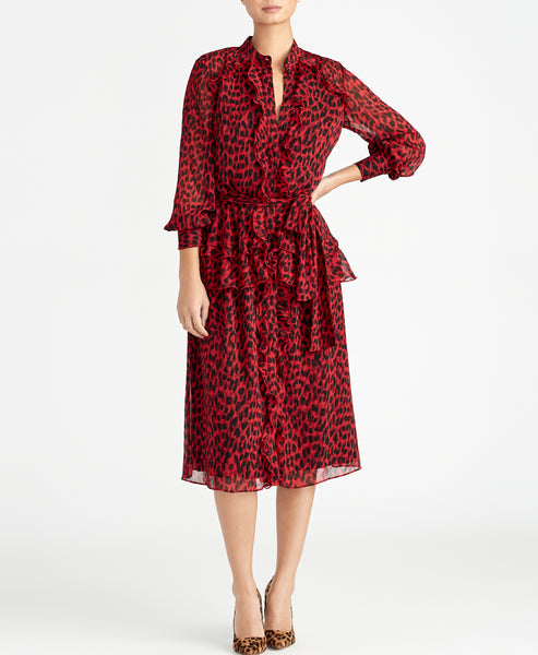 Ruby LEOPARD DRESS