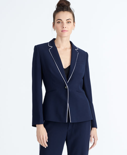HALO PIPED BLAZER