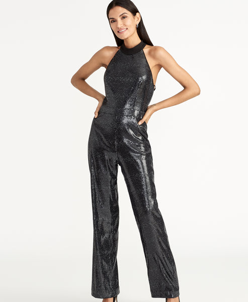 NISHA SEQUIN JUMPSUIT
