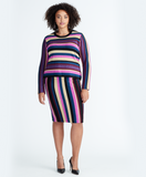 VEDA STRIPE SWEATER SKIRT | VEDA STRIPE SWEATER SKIRT