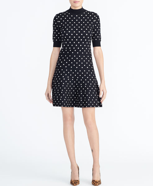 DOT KNIT DRESS