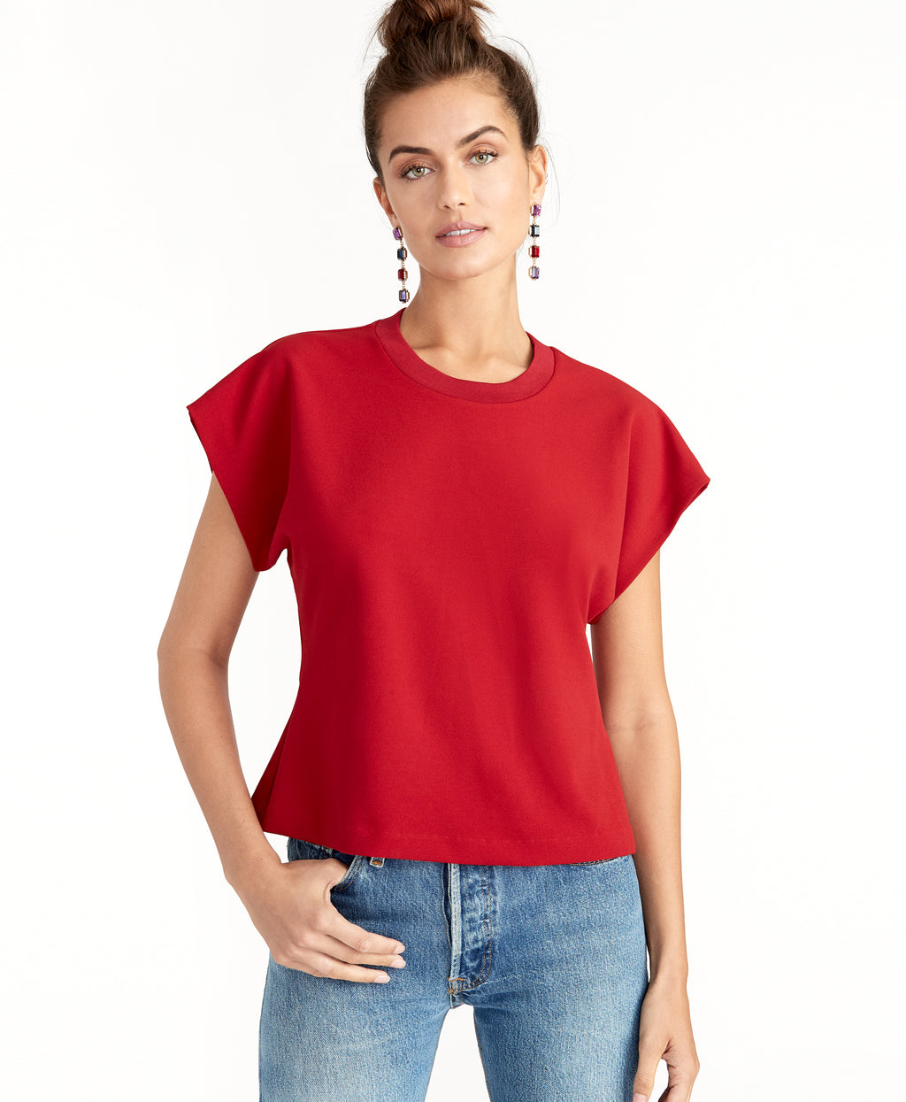 KARLIE TOP | RUBY RED