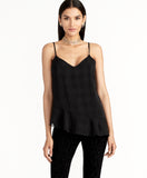 Remi Check Cami | Black