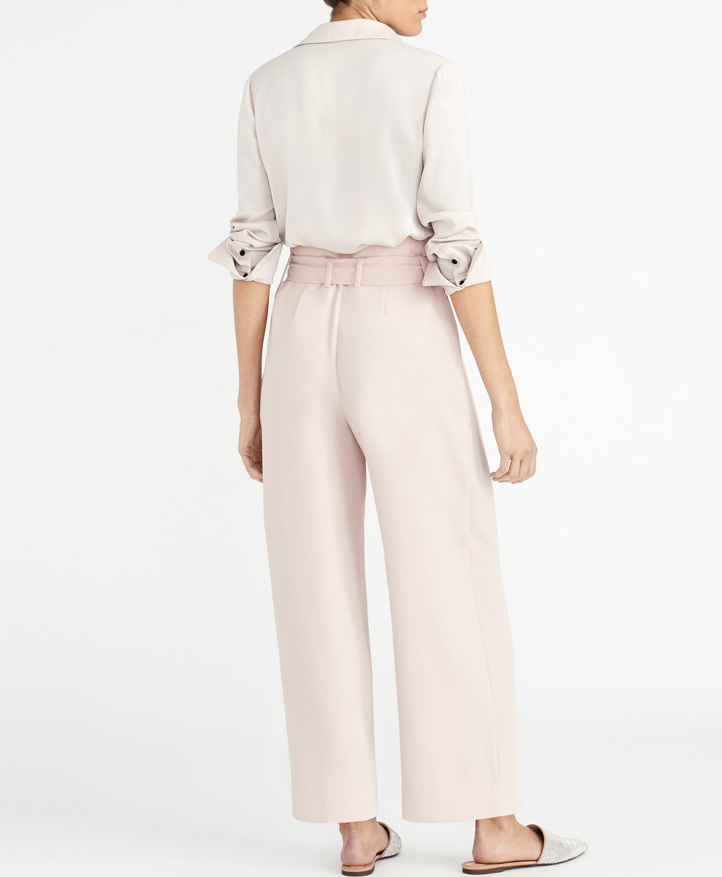 PIPED BLOUSE | BLUSH