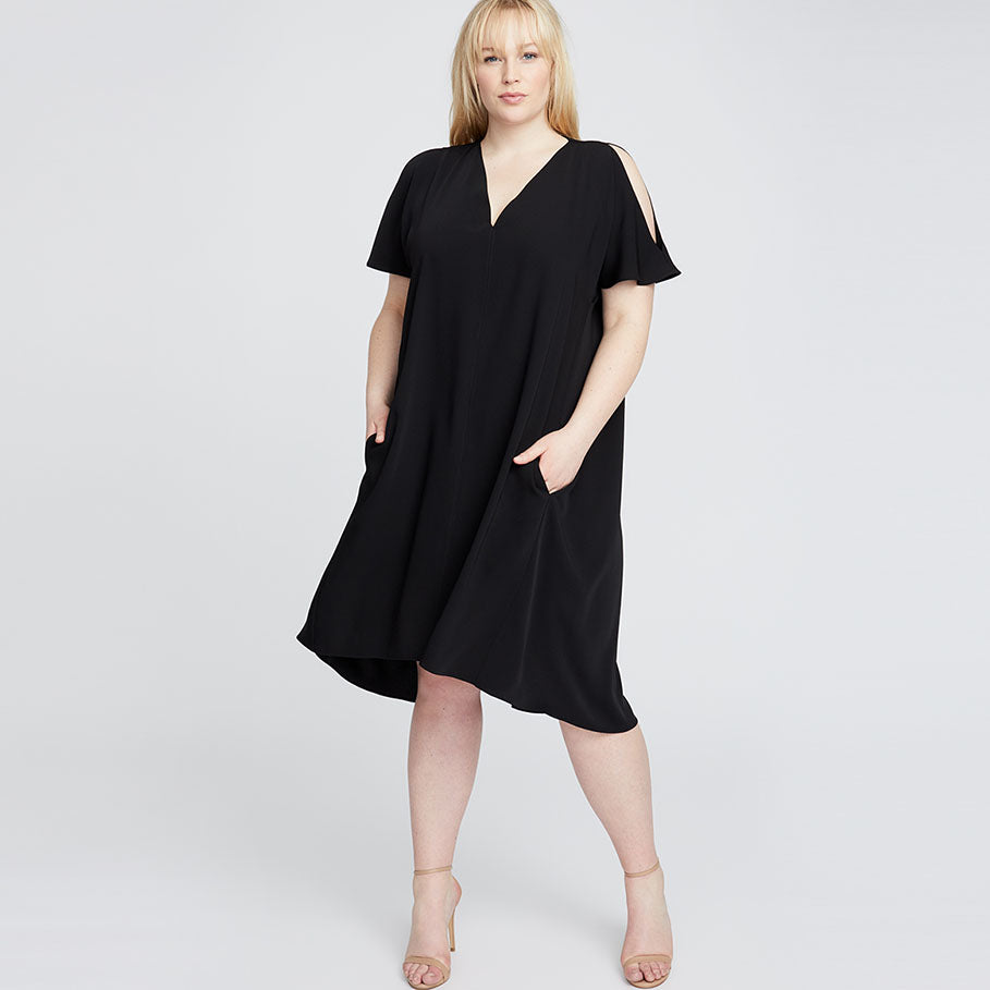CORETTA DRESS | Black