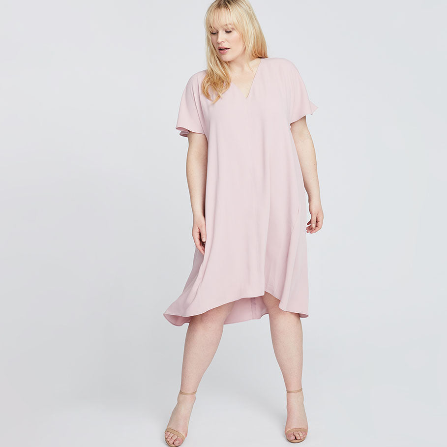 CORETTA DRESS | Mauve