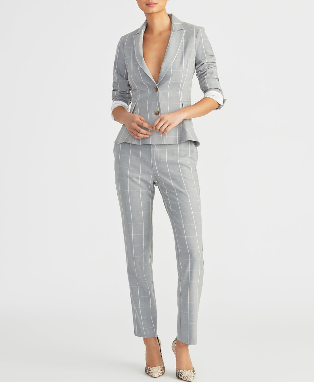 WINDOWPANE BLAZER | WINDOWPANE BLAZER