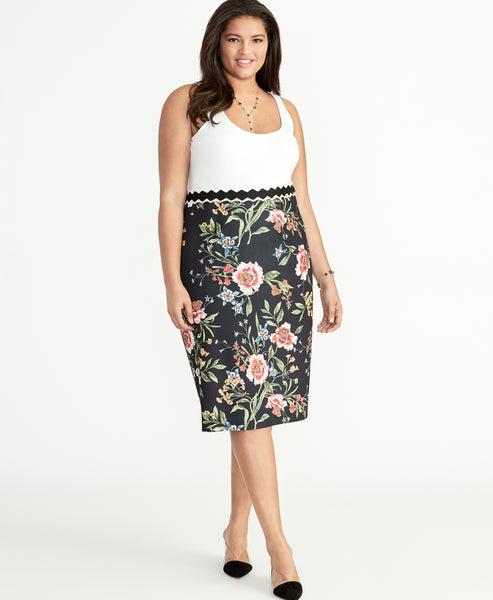 GRETCHEN PENCIL SKIRT