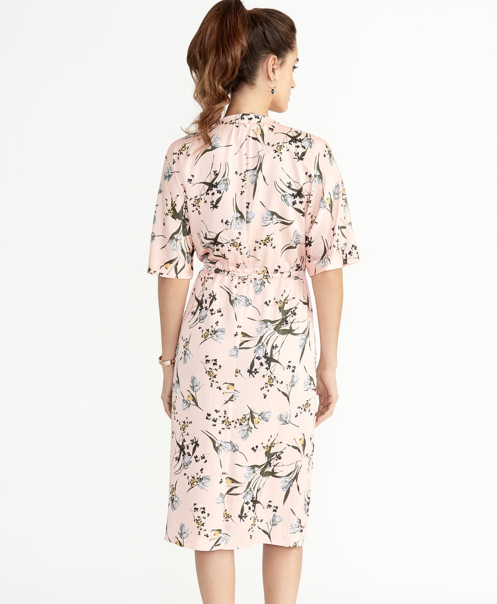 CAIT DRESS | TEA ROSE COMBO