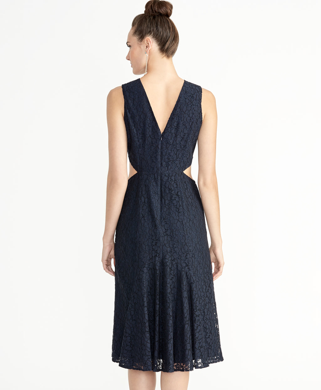 Elana Lace Dress | True Navy