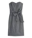 STRIPE DENIM DRESS | STRIPE DENIM DRESS