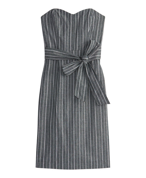 Stripe Denim Dress