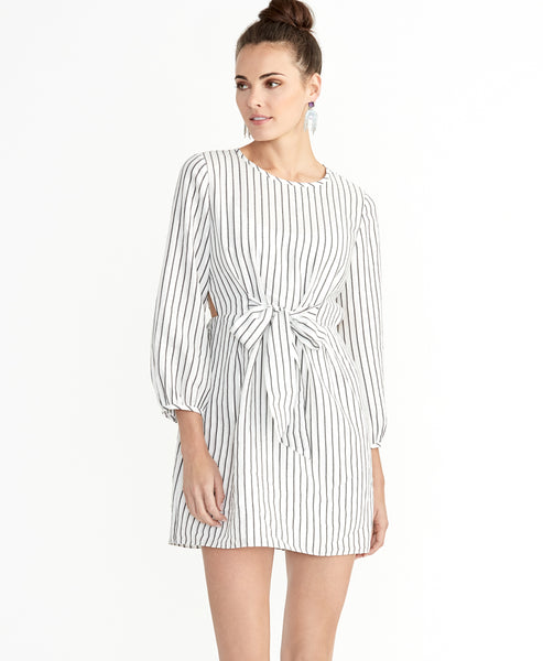 SOPHIA TIE FRONT DRESS