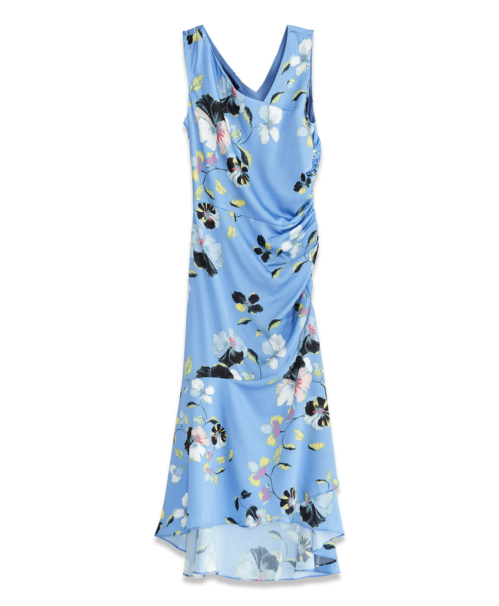 Orchid Flounce Dress | River Combo