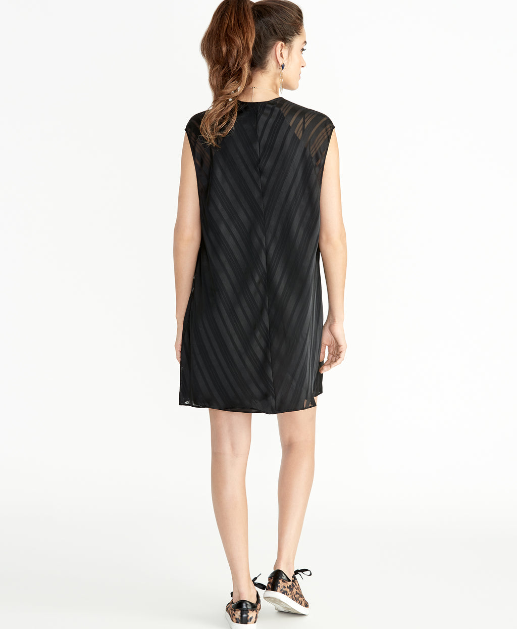 June Cape Dress | Black