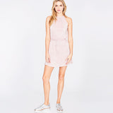 ice pink pleat DRESS | ice pink pleat DRESS