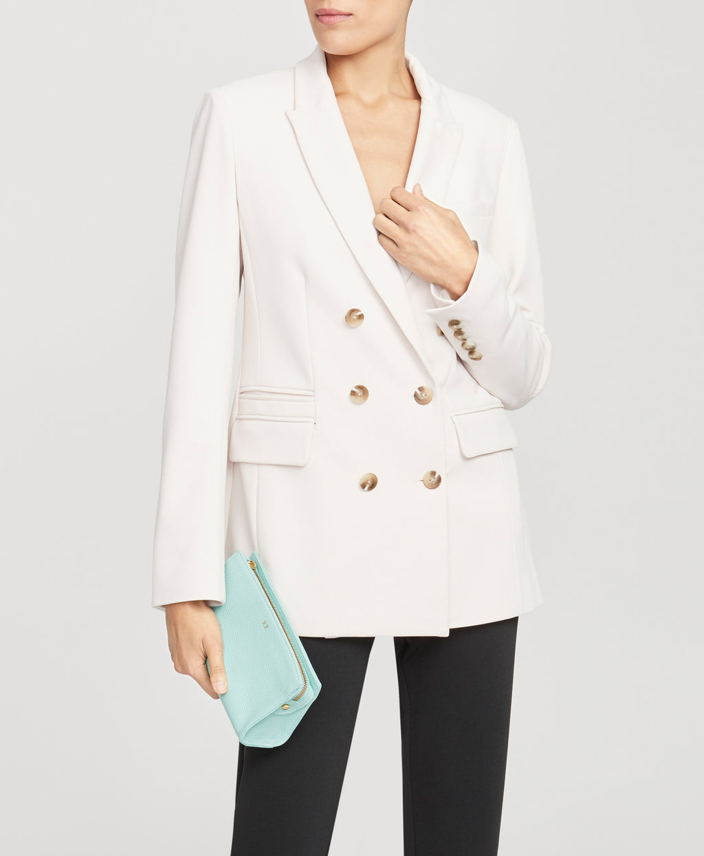 DOUBLE BREASTED BLAZER | DOUBLE BREASTED BLAZER