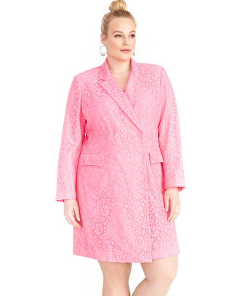 DARLA LACE BLAZER DRESS