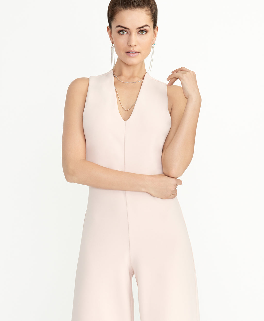 Freya Jumpsuit | Blush