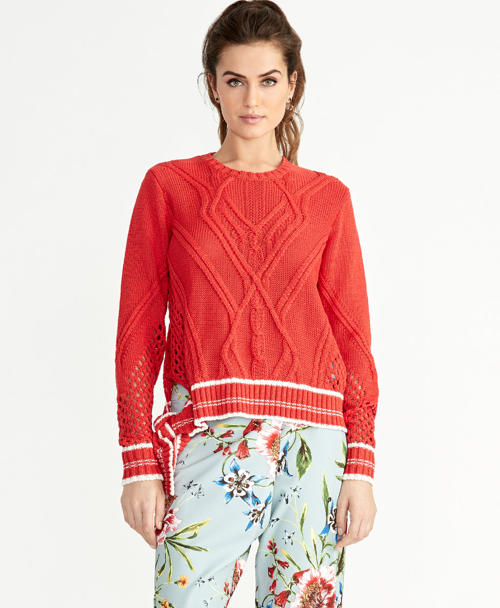 Maggie Sweater | Neon Tiger Lily