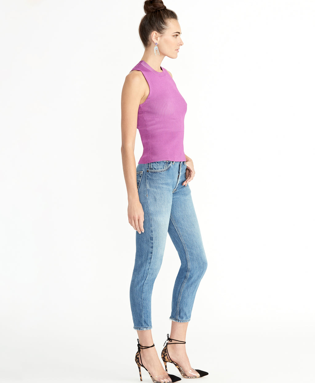 CARMELLA TOP | BRIGHT HYACINTH
