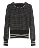 STRIPED CARDIGAN | STRIPED CARDIGAN