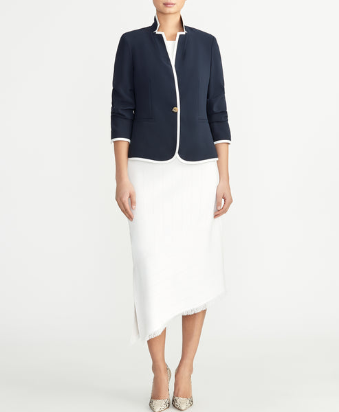 POINTELLE SWEATER SKIRT