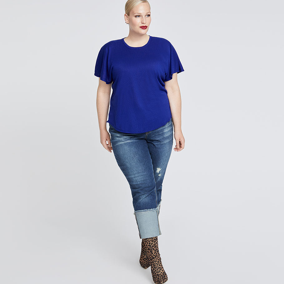 Greta Tee | ROYAL BLUE