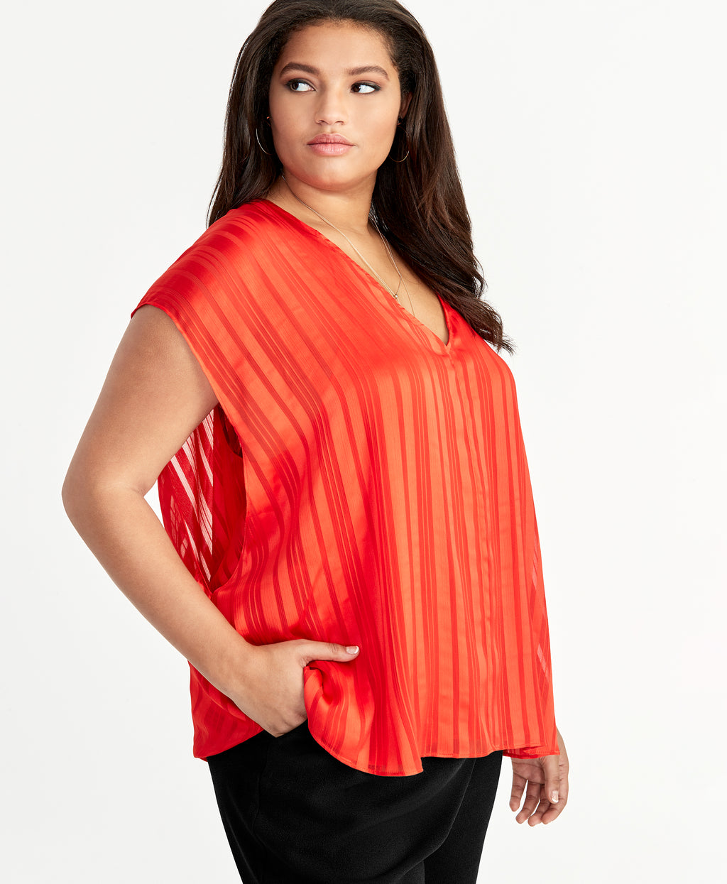 May Cape Top | Neon Tiger Lily
