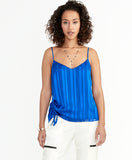 Miriam Ruched Cami | Eternal Blue