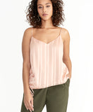 Miriam Ruched Cami | Tea Rose