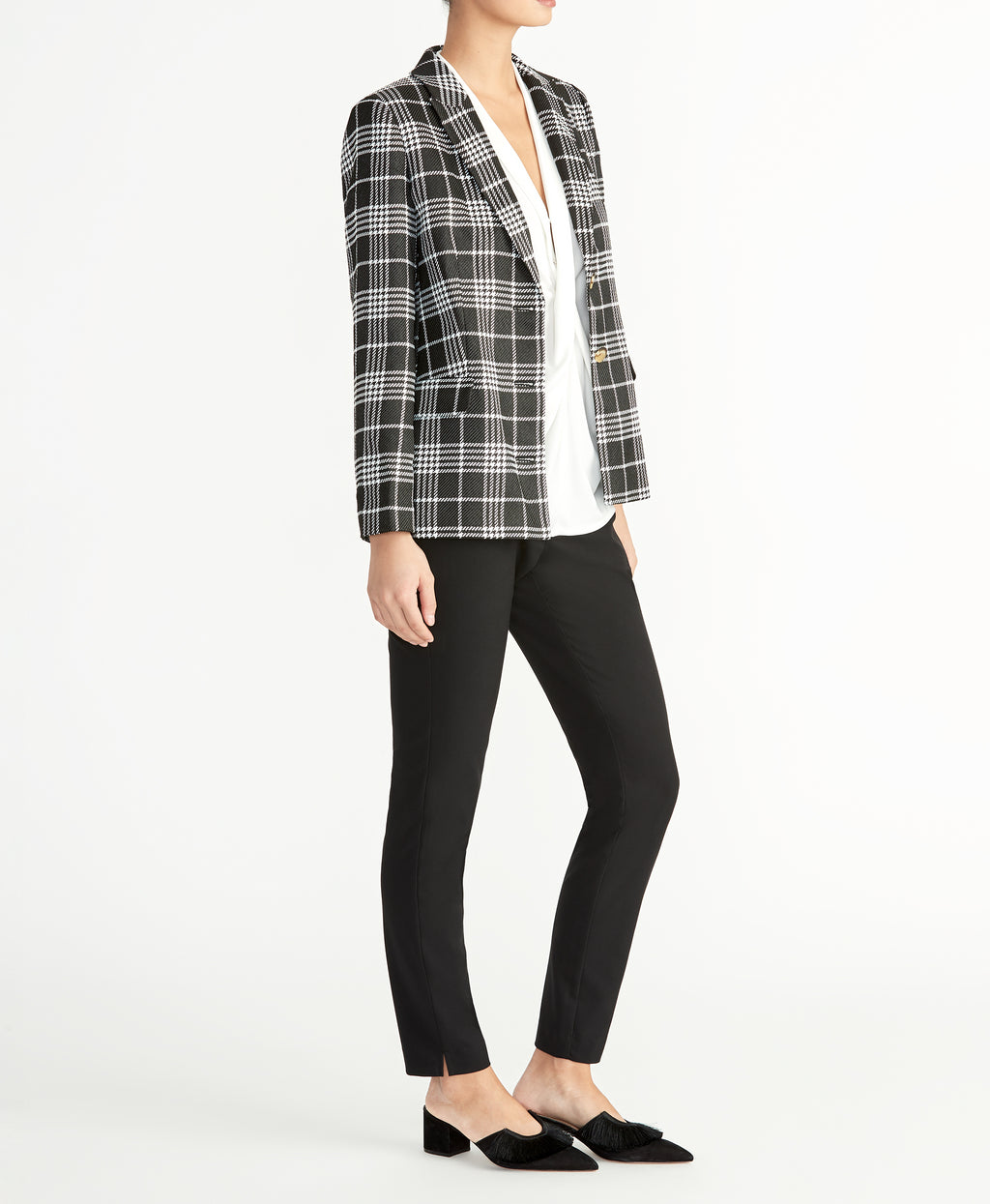 Plaid Blazer | Plaid Blazer