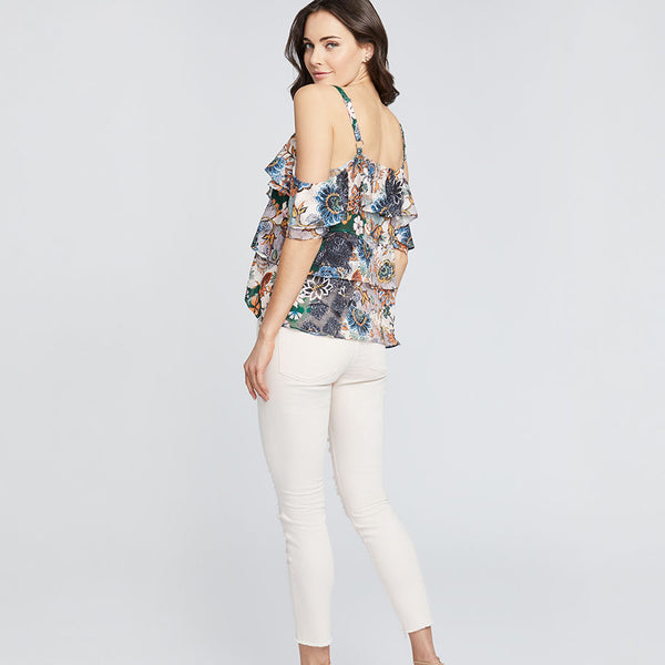 CARNATION DESTRUCTED ICON SKINNY