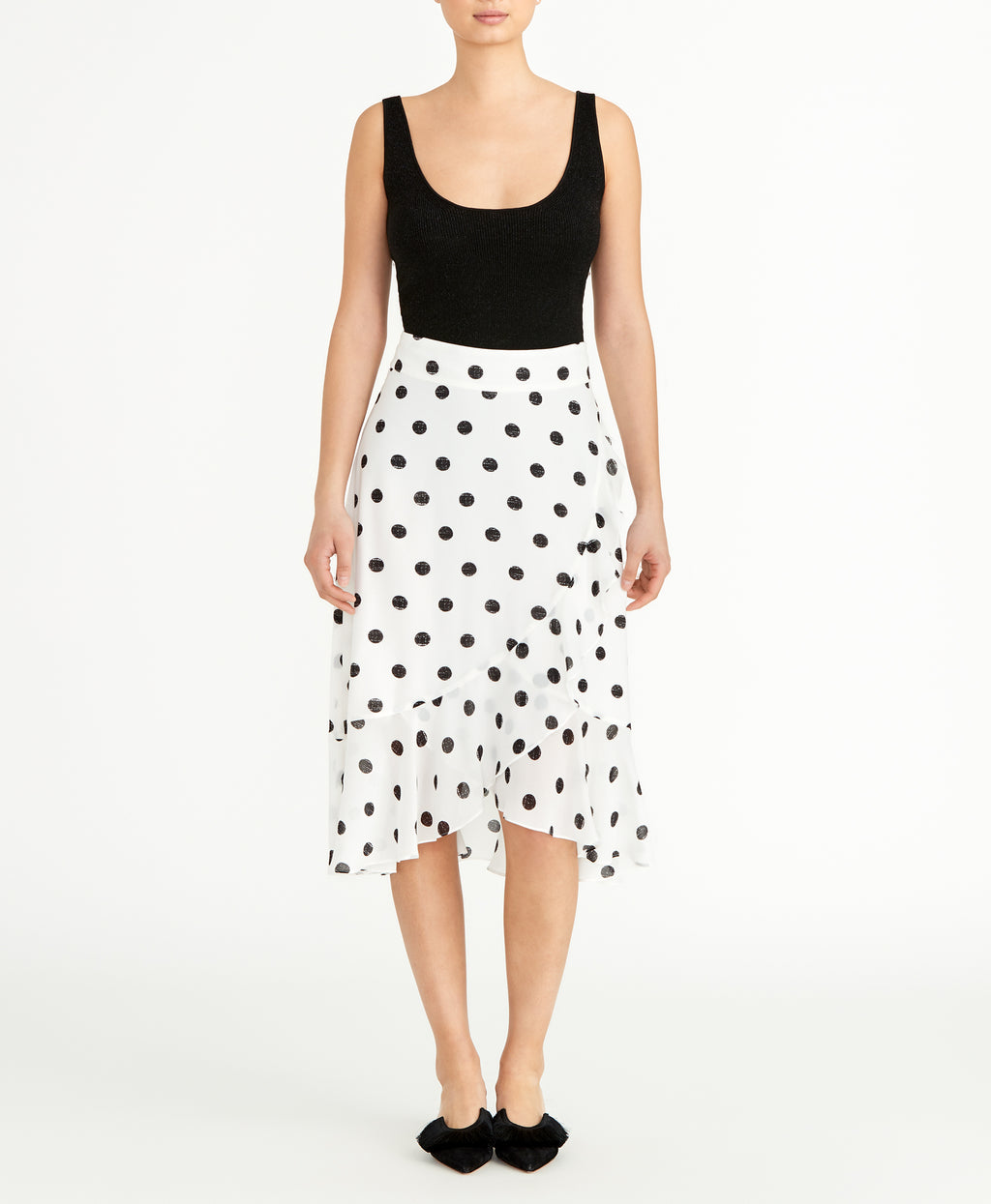 Polka Dot Ruffle Skirt | Polka Dot Ruffle Skirt