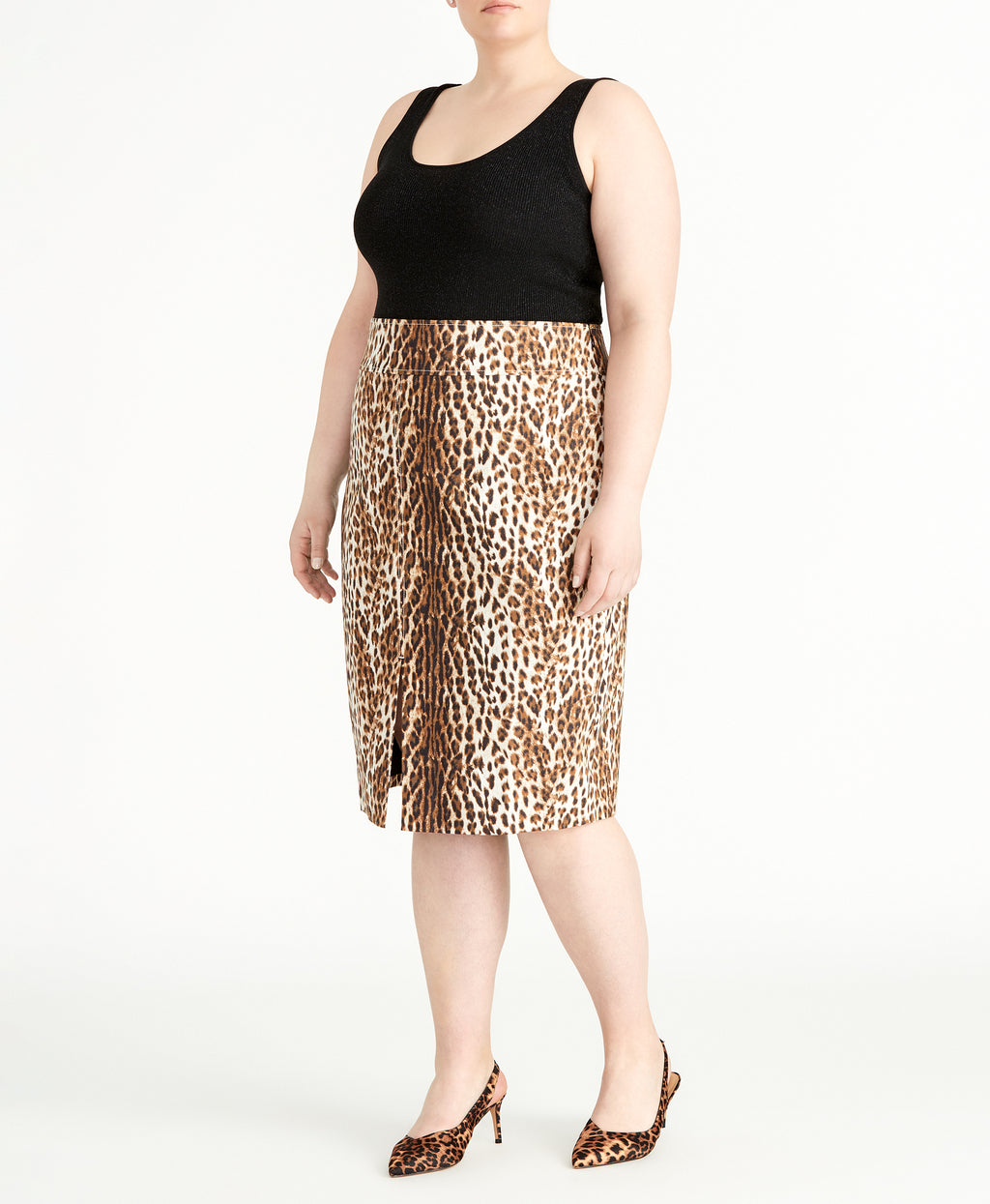Leopard Pencil Skirt | Leopard Pencil Skirt